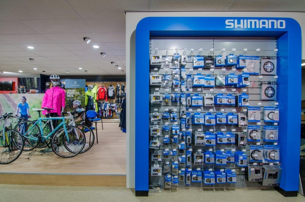 Shimano display