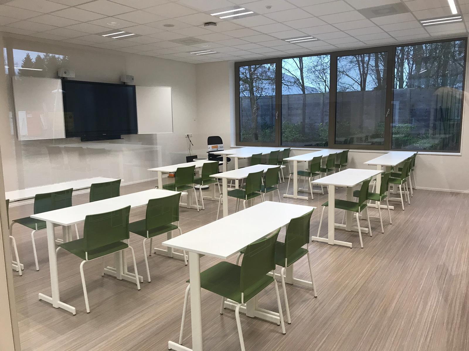 Opstelling klaslokaal